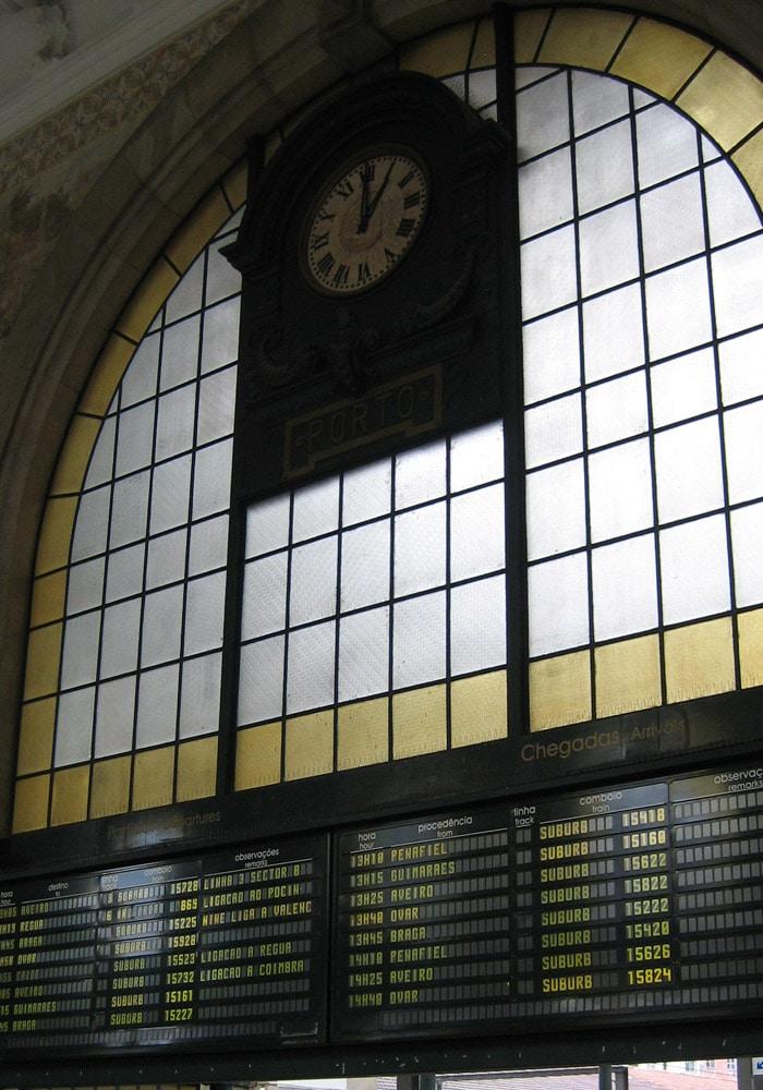 Estación de Ferrocarril de San Bento qué ver en Oporto