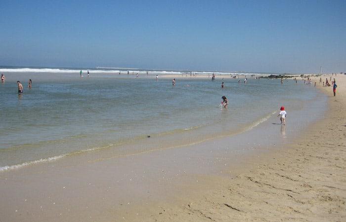 Playa de Costa Nova playas de Aveiro