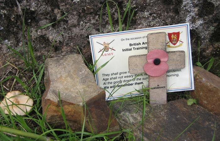Recuerdo de las tropas británicas caídas en la Guerra de la Independencia Puente de los Franceses