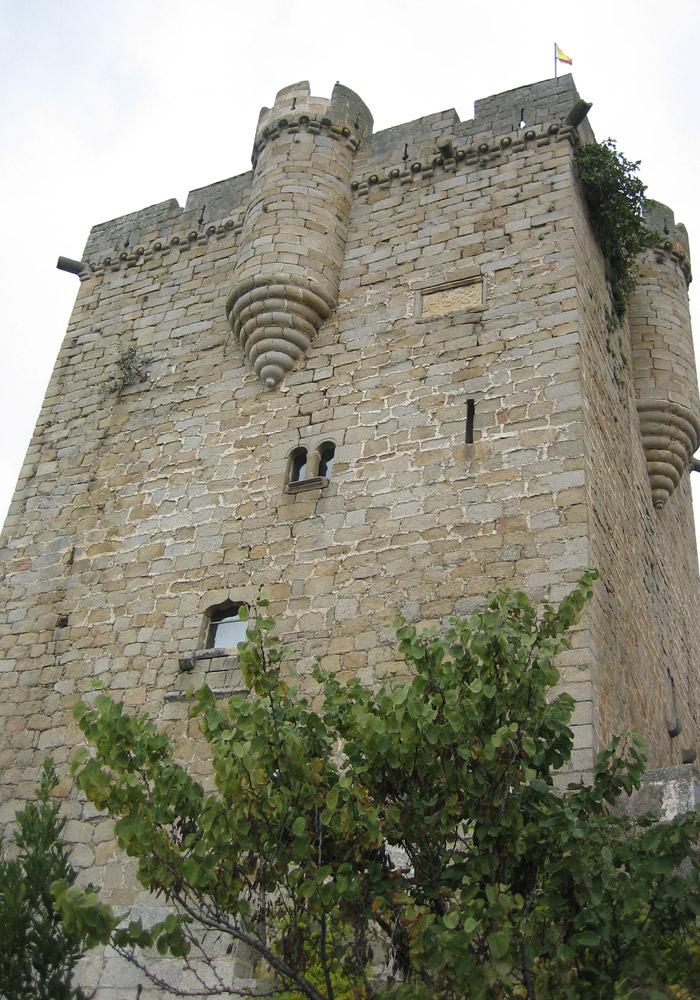 Torre del Homenaje del Castillo de San Felices de los Gallegos Puente de los Franceses