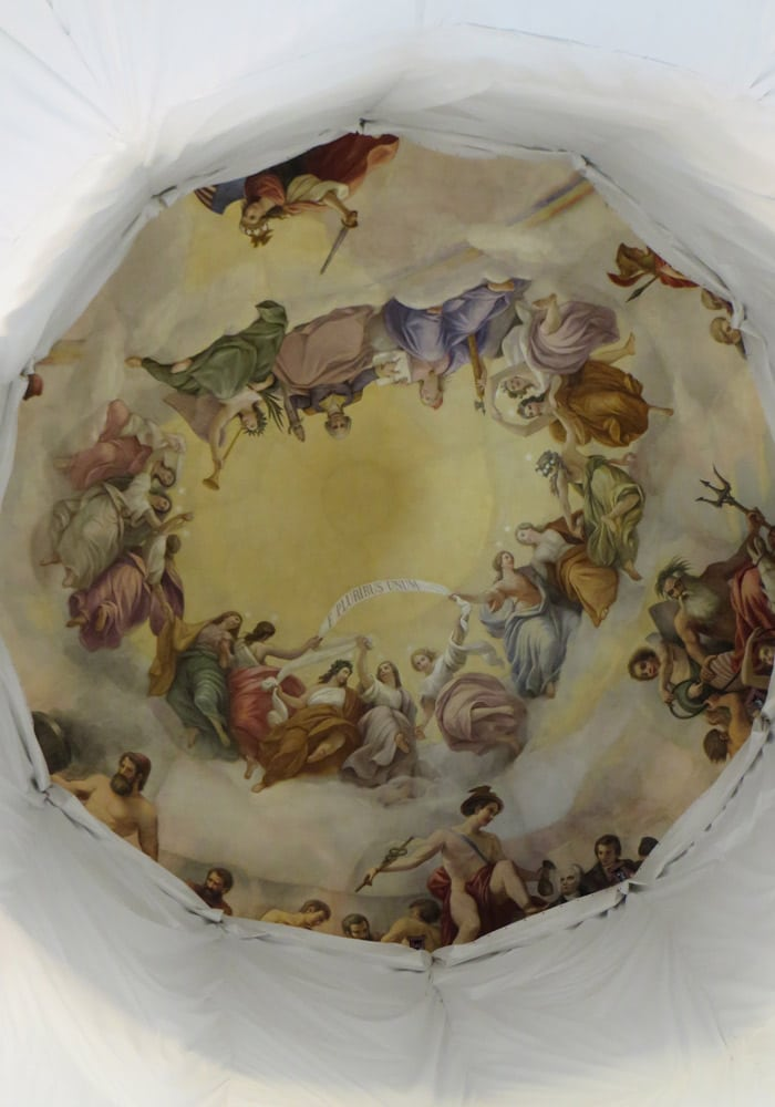 Apoteosis de Washington en la Rotonda del Capitolio