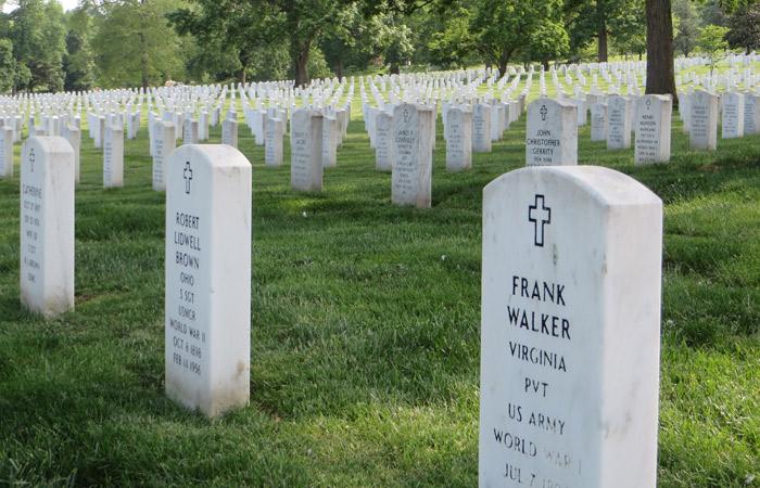 Cementerio de Arlington Washington