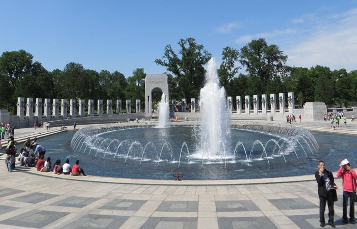 Monumento Nacional a la Segunda Guerra Mundial Washington