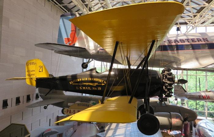Una de las piezas que muestra el Museo Nacional del Aire y el Espacio de Estados Unidos Washington