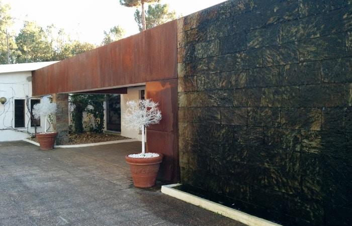 Entrada de la Quinta Prado Verde de Vilar Formoso