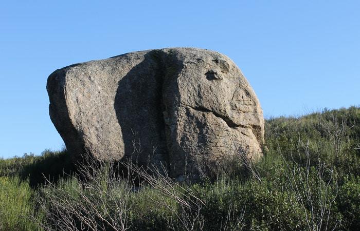 Roca con forma de algún animal