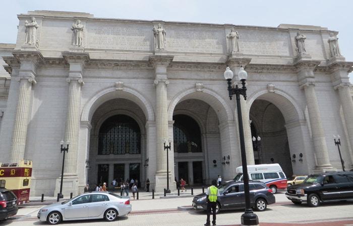 Fachada de Union Station Washington
