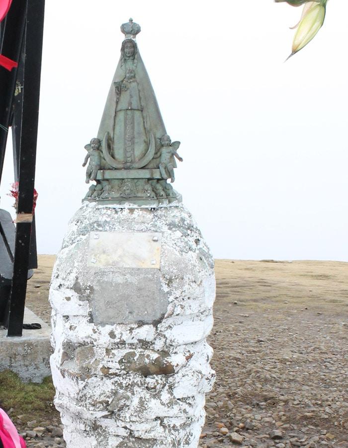 Virgen de Begoña en la Cruz del Gorbea