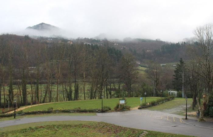 Vistas desde el Hotel Balneario Areatza