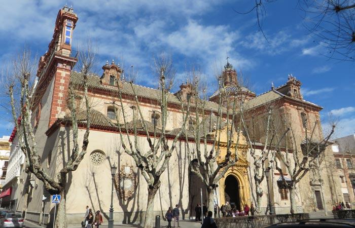 iglesia de la Magdalena Sevilla