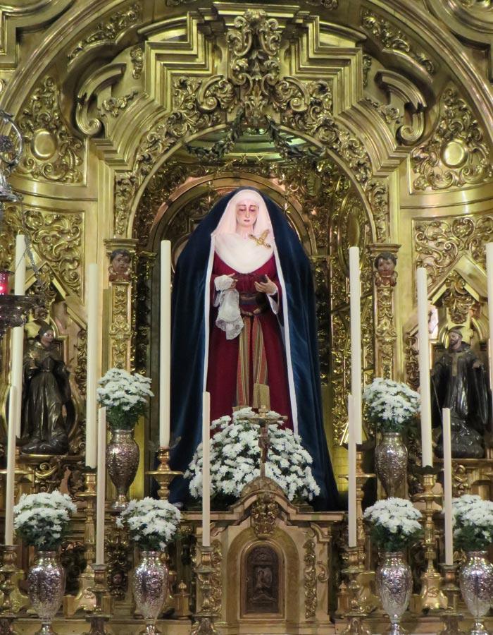 Nuestra Señora de la Soledad de San Lorenzo vírgenes de Sevilla
