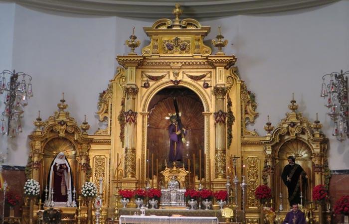 Retablo de la basílica del Gran Poder Sevilla