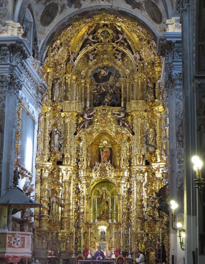Retablo de la iglesia de Santa María Magdalena Sevilla