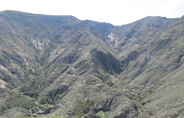 Vista desde el Mirador del Ceño senderismo en Las Hurdes