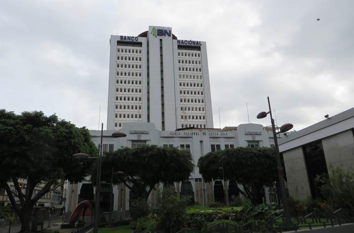 Sede del Banco Nacional de Costa Rica en San José