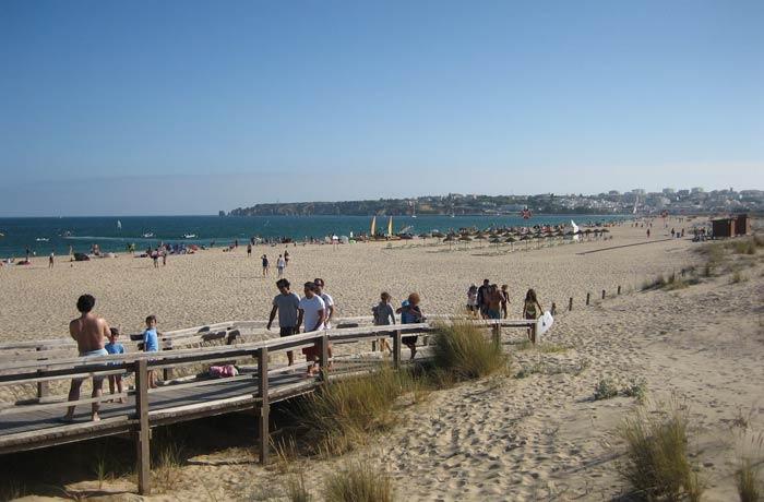 Meia Praia en Lagos mejores playas del Algarve
