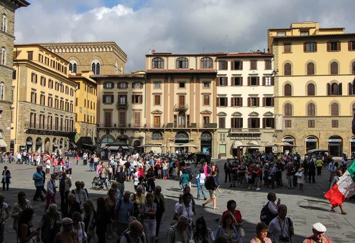 Plaza de la Señoría de Florencia plazas más bonitas de Europa