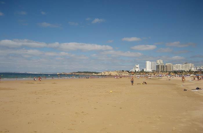 Playa da Rocha en Portimao mejores playas del Algarve