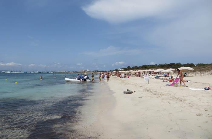 Es Cavall d'en Borrás Playas de Formentera