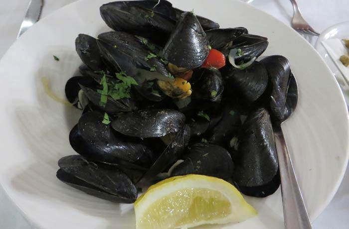 Mejillones de Can Rafalet comer en Formentera