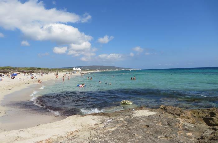 Playa de Migjorn Playas de Formentera