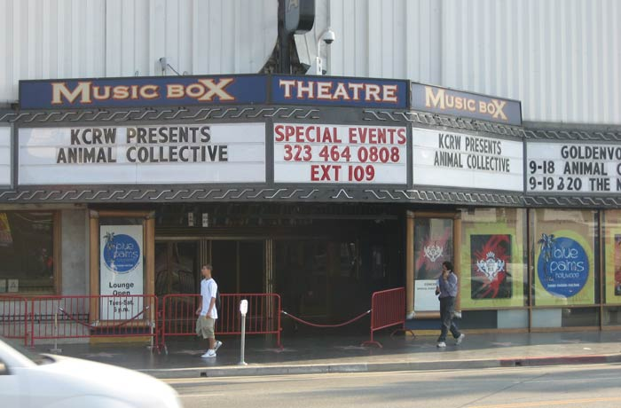 Music Box Theatre Paseo de la Fama de Hollywood
