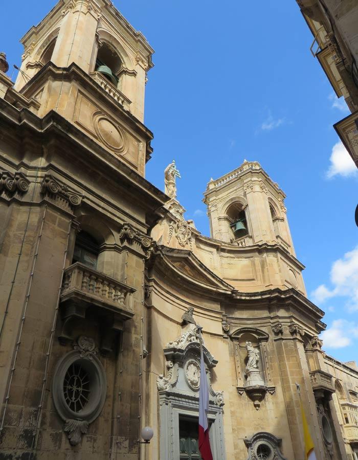 Basílica de St. Dominic qué ver en La Valeta