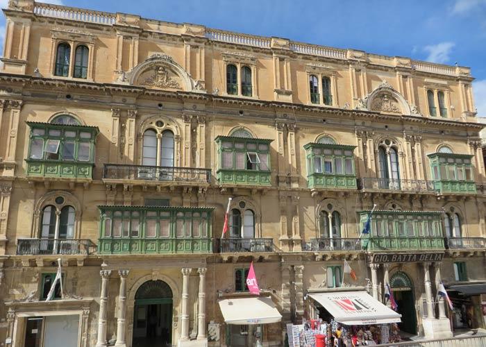 Palazzo Ferreira qué ver en La Valeta