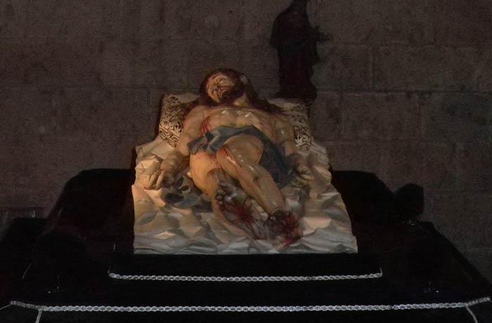 Cristo Yacente en la Catedral qué ver en Segovia en un día