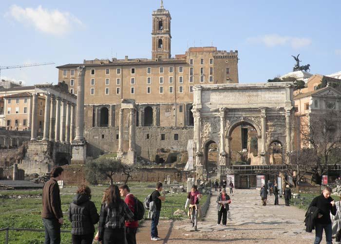 Foro romano Roma en tres días