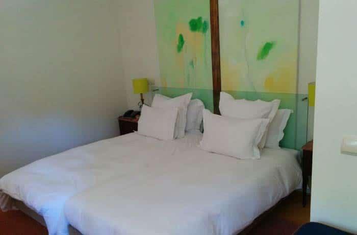Habitación doble del hotel Fonte Santa Monfortinho termas