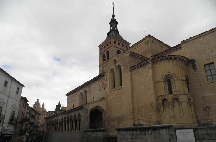 Iglesia de San Martín qué ver en Segovia en un día