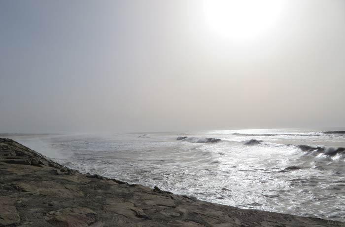 Vista del Atlántico en Furadouro