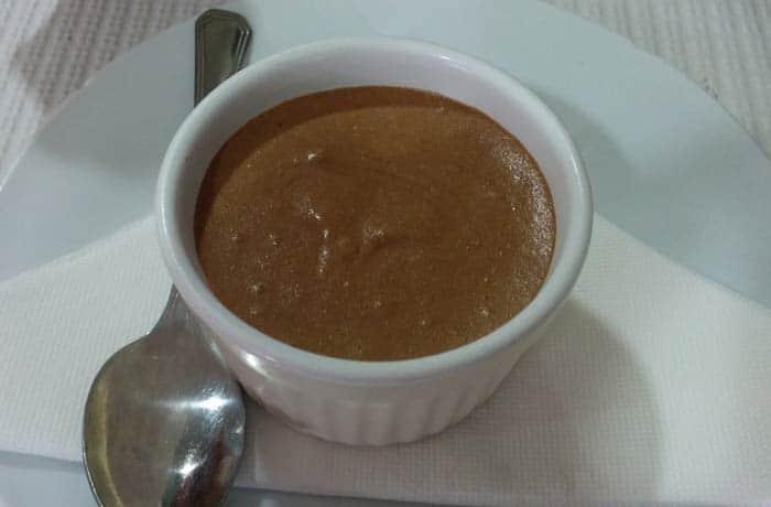 Mousse de chocolate comer en Furadouro