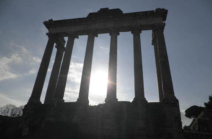 Templo de Júpiter Coliseo y Foro Romano
