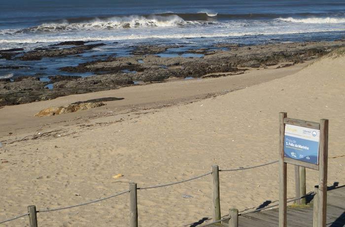 Playa de Sao Felix da Marinha