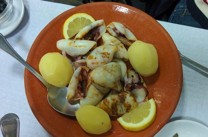 Lulas na brasa de Kurika Restaurantes en Espinho