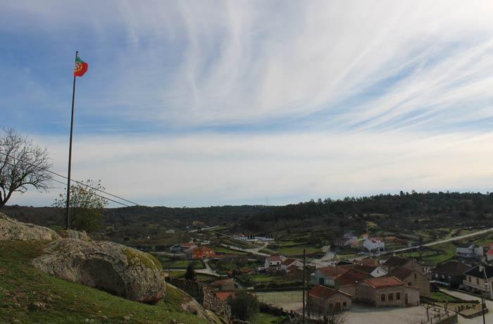 Uno de los miradores de Castelo Bom