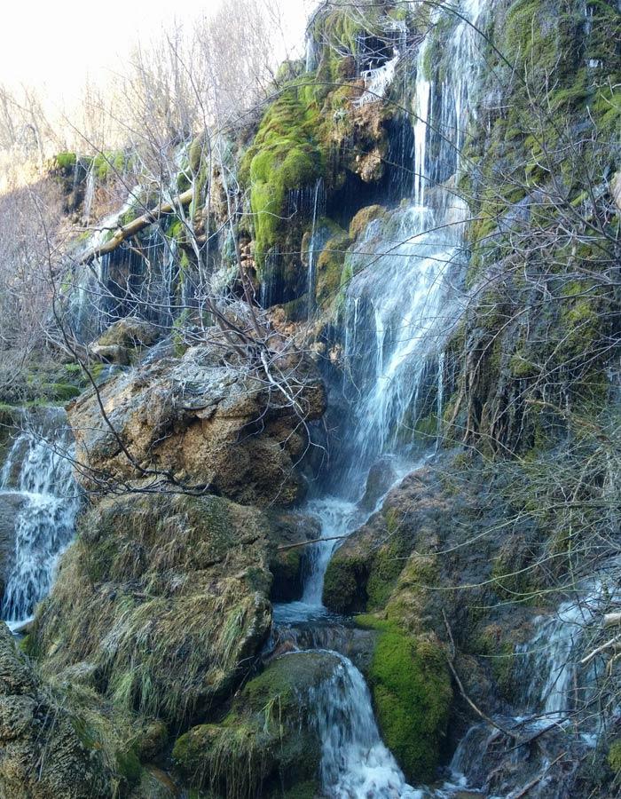 Nacimiento del río Cuervo Cuenca en tres días
