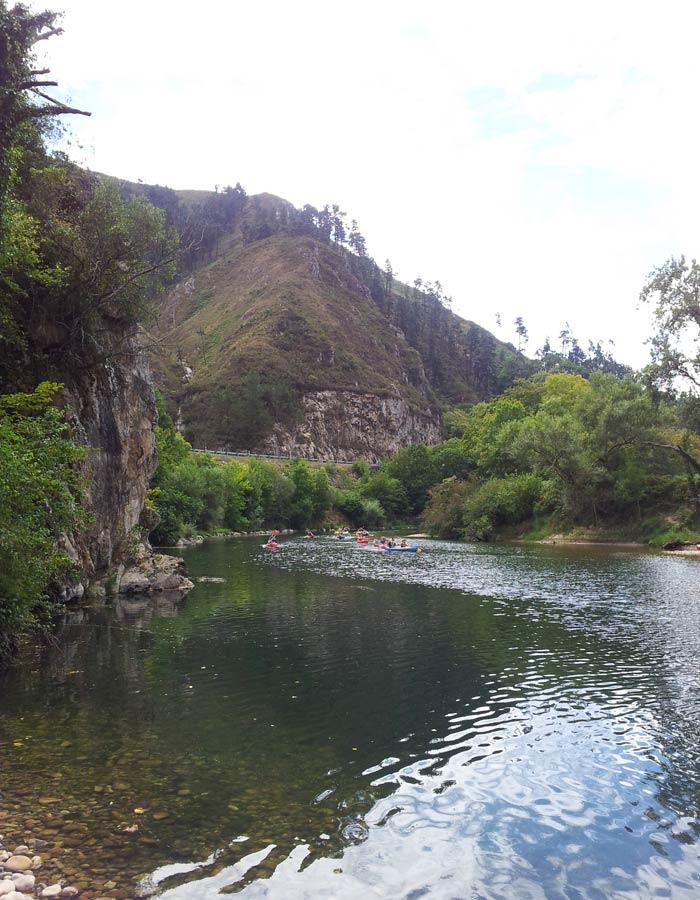 Vista del río Sella