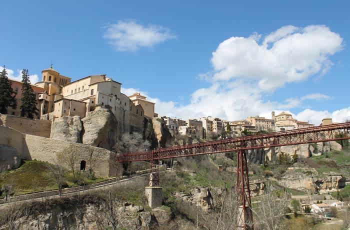 Puente de San Pablo y casco histórico Cuenca en tres días