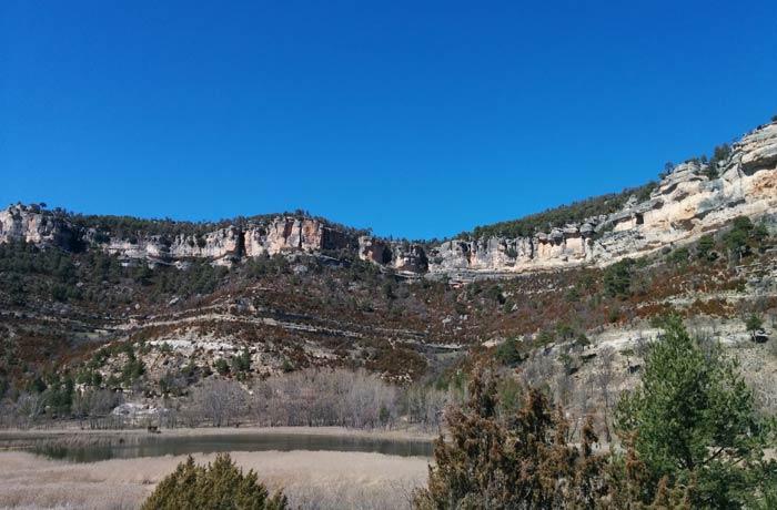 Paisaje en los alrededores de la Laguna de Uña Cuenca en tres días