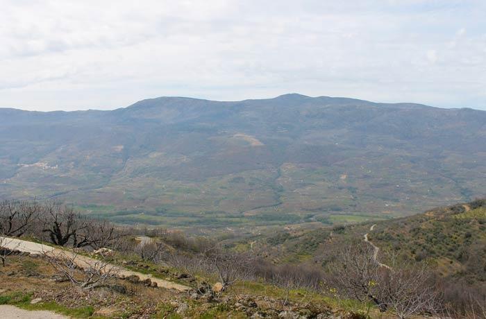 Vista del Valle del Jerte