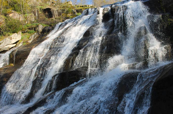 Detalle de la Cascada del Caozo
