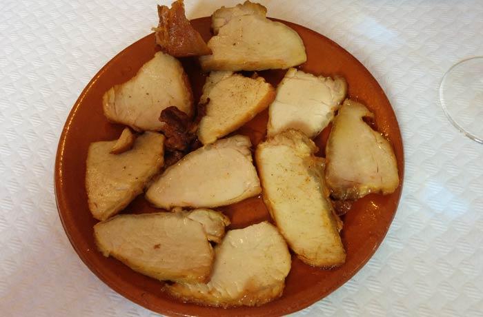Lomo de orza comer Ciudad Encantada