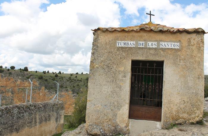 Cementerio ubicado junto a la ermita de San Frutos Hoces del Duratón
