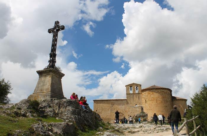 Cruz y ermita de San Frutos Hoces del Duratón