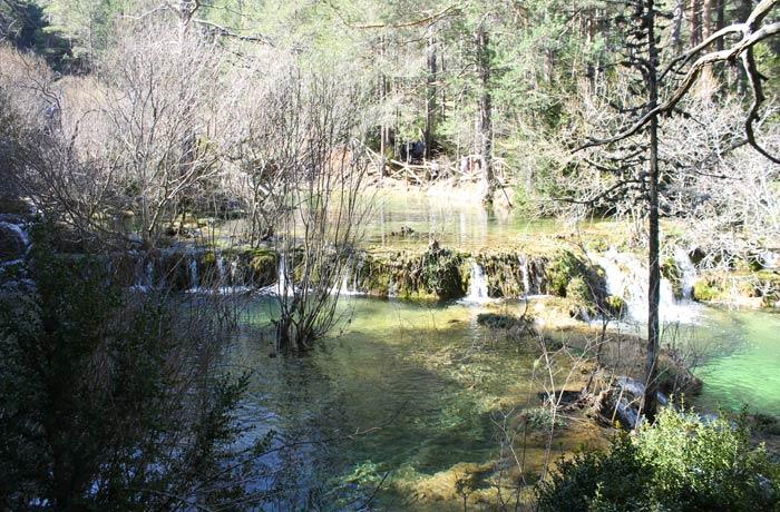 Uno de los espacios más amplios que genera el curso del río Cuervo