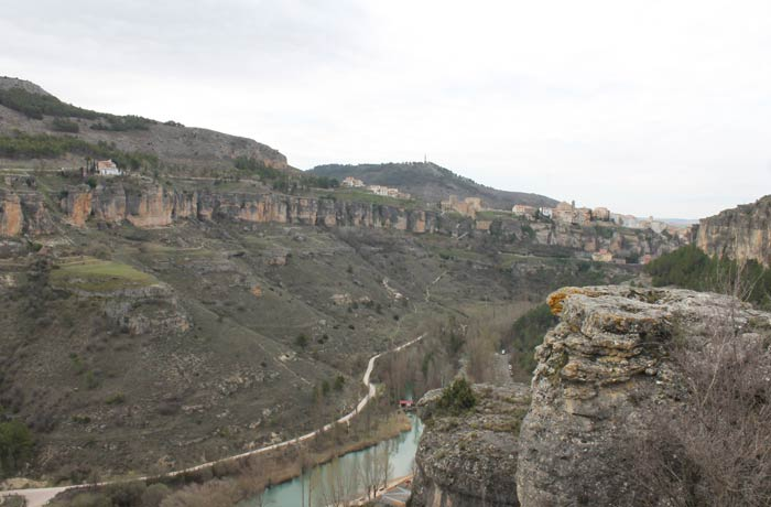 Mirador de Emiliano ruta de la Hoz del Júcar