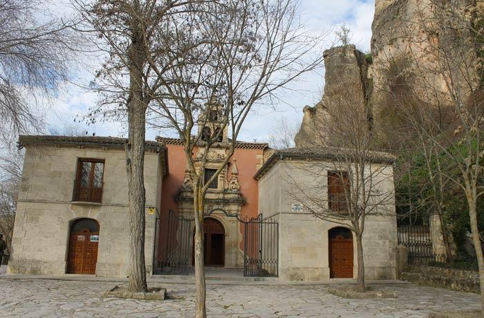 Santuario de Nuestra Señora de las Agustias de Cuenca ruta de la Hoz del Júcar